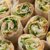 Fingerfood: Vegetarische Wraps