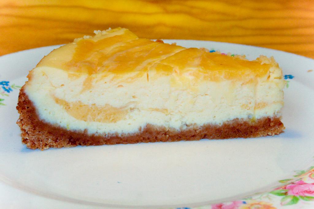 Kasekuchen Mit Zitronencreme Lemon Curd Cheese Cake Tobias Kocht