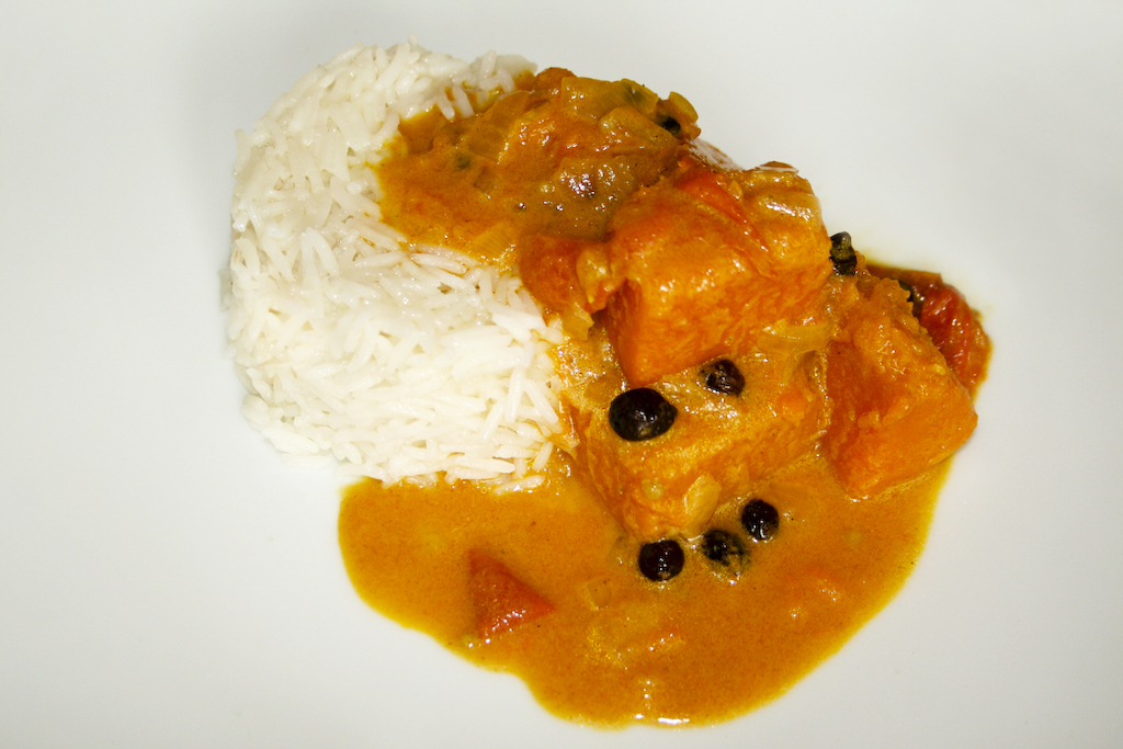 Kürbiscurry vegan