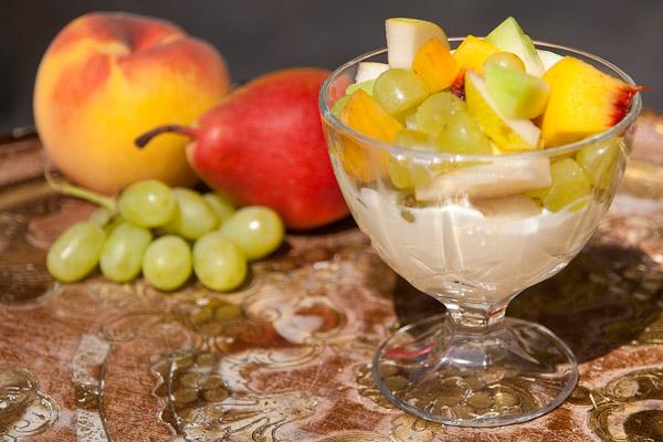 Griechisches Joghurt mit Früchten Griechisches Joghurt mit Früchten