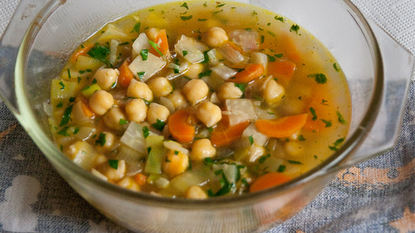 Revithada Kichererbsensuppe – Revithada – Ρεβιθάδα