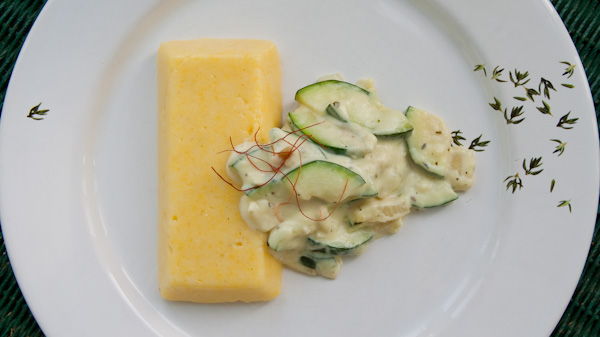 polenta mit zucchini sauce tobias kocht. Black Bedroom Furniture Sets. Home Design Ideas
