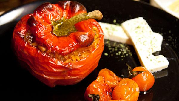 Paprika gefüllt 1 Paprika gefüllt   Πιπεριές Γεμιστές