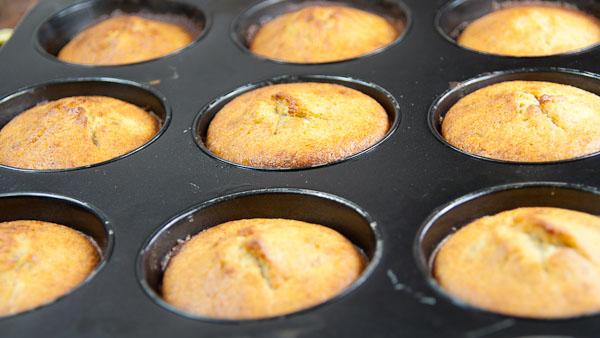 Bananen Muffins 1 Bananen Muffins