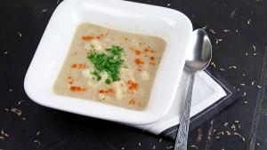 Blumenkohl Fenchel Suppe mit Anis-1