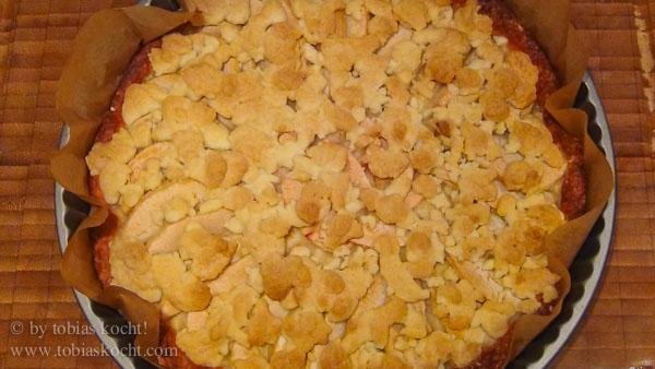 Birnenkuchen mit Streusel