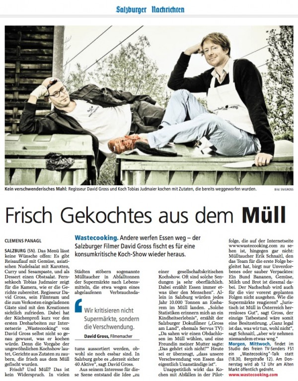 Bildschirmfoto 2012 05 24 um 17.46.03 e1337874517777 Mit wastecooking.com in den Salzburger Nachrichten