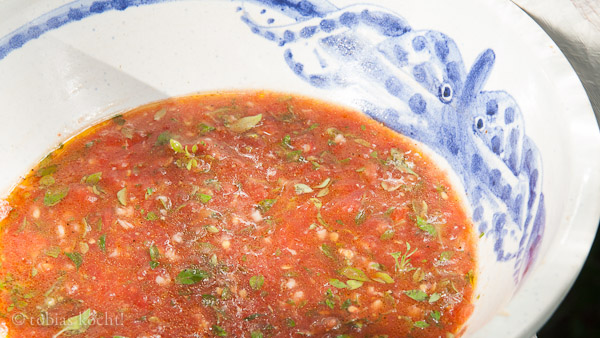 Tomaten Basilikum Sauce vegan