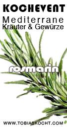 RO BannerM Kochevent   Mediterrane Kräuter und Gewürze   Rosmarin