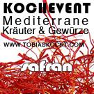 SA BannerS Kochevent   Mediterrane Kräuter und Gewürze   Safran