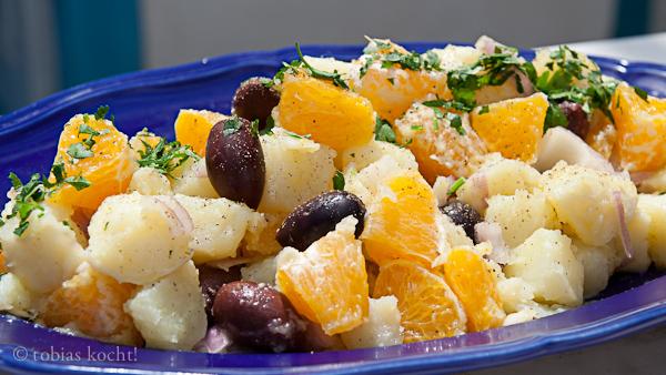 Kartoffel Orangen Salat